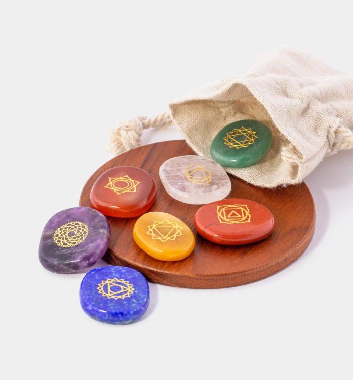 Chakra Stones mit Beutel